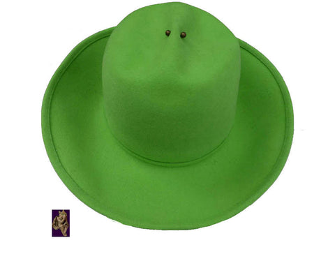 mr john vintage apple green hat henry pollack ny