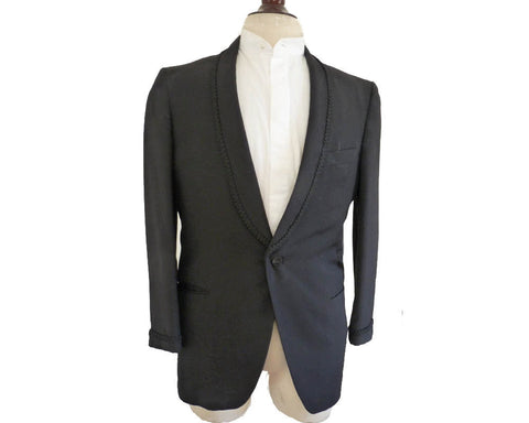 after six rudofker tuxedo shawl collar sz 40 vintage