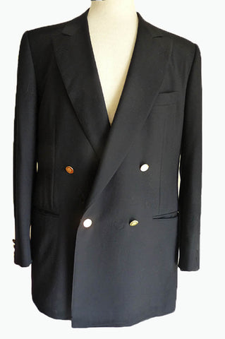 ermenegildo zegna blazer sz 40double breasted