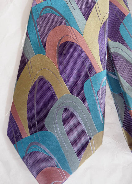 J  Garcia Silk tie Northern Lights Anniversary Collection 39