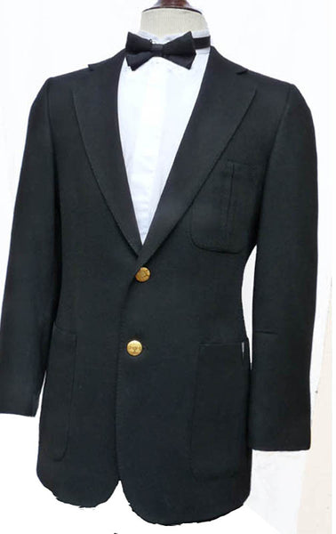 lanvin black dinner tux jacket sz 38