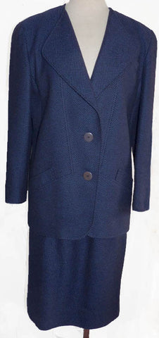 louis feraud skirt suit size 10