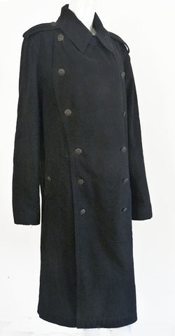 marc jacobs black mens coat outerwear
