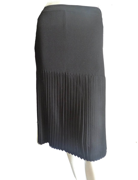 Exclusively Misook Black skirt  Woman Pleated