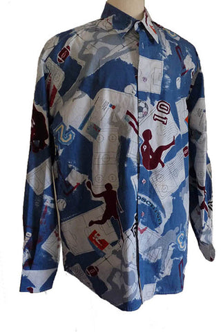 moschino misura mens football them shirt xxl