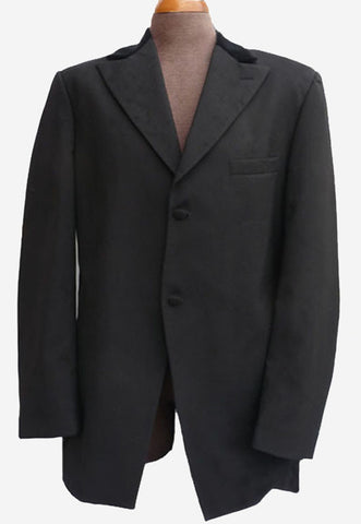 perry ellis formal knight vintage wide lapels tuxedo