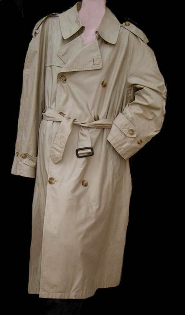 saville row 40 s trench coat vintage outerwear