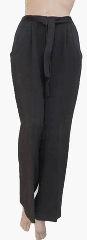valentino miss v black pants size 8