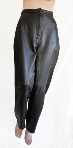 new zealand lamb leather pants sz 10 Valerie stevens