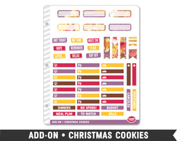 Add-On • Christmas Cookies Planner Stickers - Planner Penny