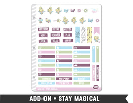 Add-On • Stay Magical Planner Stickers - Planner Penny