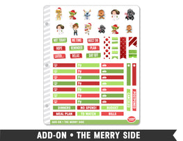 Add-On • The Merry Side Planner Stickers - Planner Penny