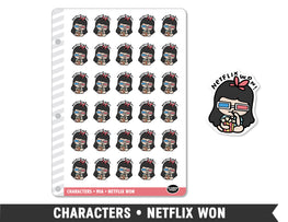 Characters • Netflix Won Planner Stickers - Planner Penny