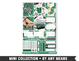 Mini Collection • By Any Means • Weekly Spread Planner Stickers - Planner Penny