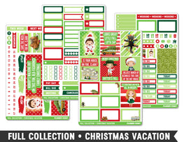Full Collection • Christmas Vacation • Weekly Spread Planner Stickers - Planner Penny