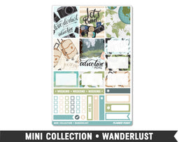 Mini Collection • Wanderlust • Weekly Spread Planner Stickers - Planner Penny