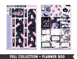Full Collection • Planner Boo • Weekly Spread Planner Stickers - Planner Penny