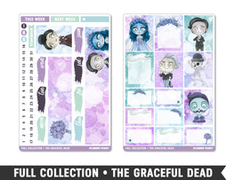 Full Collection • The Graceful Dead • Weekly Spread Planner Stickers - Planner Penny