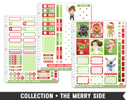 Collection • The Merry Side Planner Stickers - Planner Penny