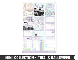 Mini Collection • This Is Halloween • Weekly Spread Planner Stickers - Planner Penny