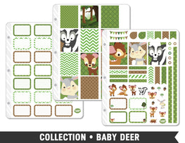 Full Collection • Baby Deer Planner Stickers - Planner Penny