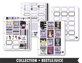 Full Collection • Beetlejuice Planner Stickers - Planner Penny