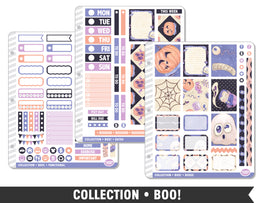 Full Collection • Boo! Planner Stickers - Planner Penny