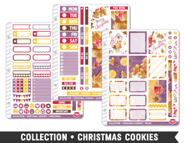 Full Collection • Christmas Cookies Planner Stickers - Planner Penny
