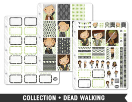 Full Collection • Dead Walking Planner Stickers - Planner Penny