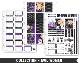 Full Collection • Evil Women Planner Stickers - Planner Penny