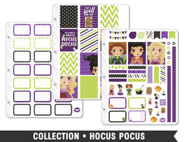Full Collection • Hocus Pocus Planner Stickers - Planner Penny