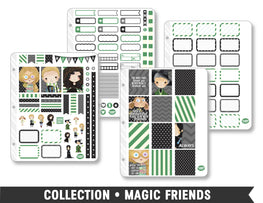 Full Collection • Magic Friends Planner Stickers - Planner Penny