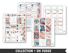 Full Collection • Oh Fudge Planner Stickers - Planner Penny