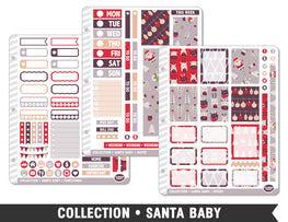 Collection • Santa Baby Planner Stickers - Planner Penny