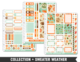 Collection • Sweater Weather Planner Stickers - Planner Penny