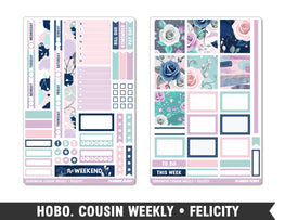 Hobonichi Cousin • Felicity • Weekly Spread Planner Stickers