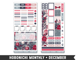 Hobonichi Weeks • December • Monthly Spread Planner Stickers - Planner Penny
