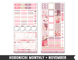 Hobonichi Monthly • November • Monthly Spread Planner Stickers - Planner Penny