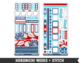 Hobonichi Weeks • Stitch • Weekly Spread Planner Stickers - Planner Penny
