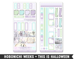 Hobonichi Weeks • This Is Halloween • Weekly Spread Planner Stickers - Planner Penny