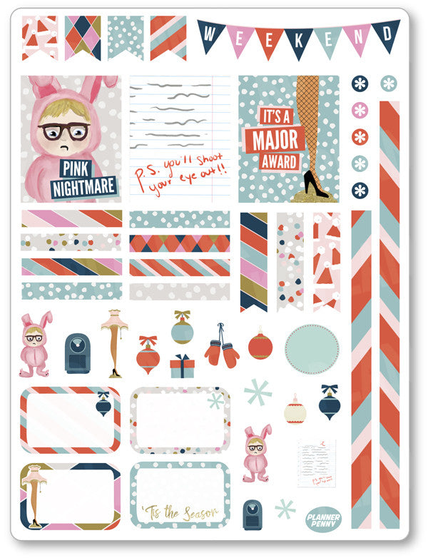 Oh Fudge Decorating Kit PDF PRINTABLE Planner Stickers