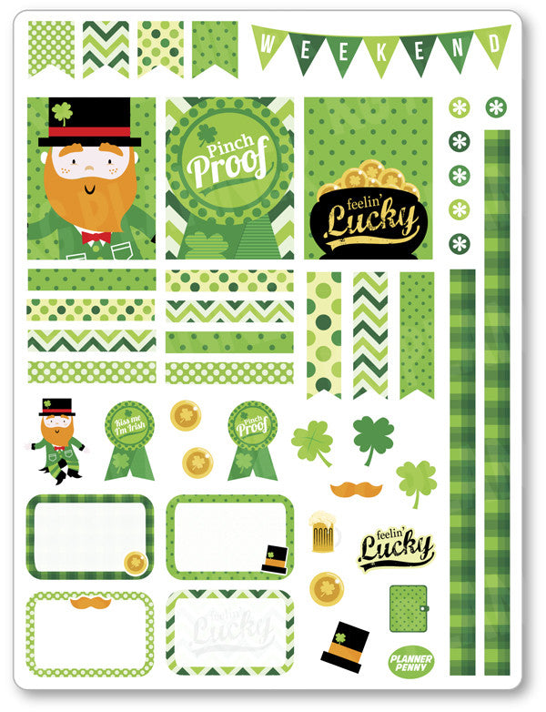 Pinch Proof Decorating Kit PDF PRINTABLE Planner Stickers