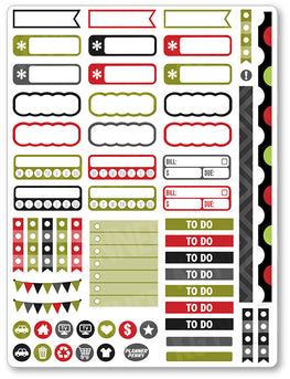 Horrors Functional Planner Stickers - Planner Penny
