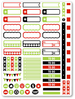 Ghost Fighters Men Functional PDF PRINTABLE Planner Stickers