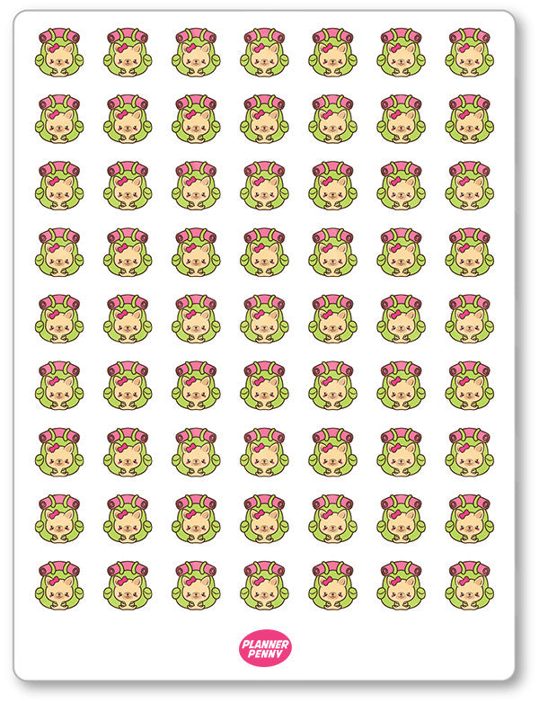 Penny Hiking (Small) Planner Stickers - Planner Penny