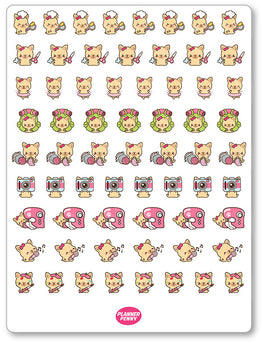Penny Hobbies Assortment Planner Stickers