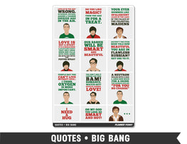 Quotes • Big Bang Full Box Planner Stickers - Planner Penny
