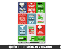Quotes • Christmas Vacation Full Box Planner Stickers
