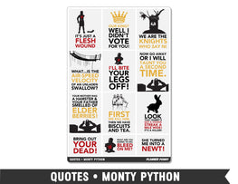 Quotes • Monty Python Full Box Planner Stickers - Planner Penny
