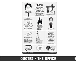 Quotes • The Office Full Box Planner Stickers